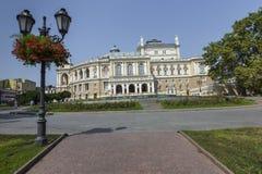 ODESSA, UKRAINE - 2 AOÛT 2016 : Odessa National Academic T Photos libres de droits