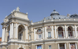 ODESSA, UKRAINE - 2 AOÛT 2016 : Odessa National Academic T Photo stock