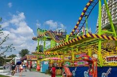 ODESSA, UKRAINE - 15. August 2015: Touristenrest im Park HNO Lizenzfreies Stockfoto