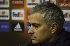 ODESSA, UKRAINE - 8 décembre 2016 : Entraîneur Jose Mourinho à des RP Images stock