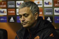 ODESSA, UKRAINE - 8. Dezember 2016: Trainer Jose Mourinho an einer PR stockfotos