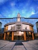 ODESSA, Ukraine - February 2, 2016: The facade of Odessa commercial court of appeal. Odessa, Ukraine. ODESSA, Ukraine - February 2, 2016: The facade of Odessa Royalty Free Stock Image