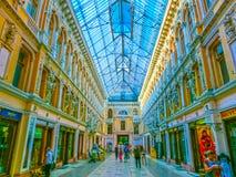Odessa, Ukraine - Jily 09, 2017 : Passage de cour à Odessa Historique et architecture images libres de droits