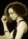 ODESSA, UKRAINE - 5 JUIN : chanteur CarolaZerega (Equateur, Guayaqui Photographie stock