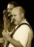 ODESSA, UKRAINE - 5 JUIN : guitariste bas Valery Burymchinko (Ukr Photographie stock