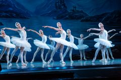 Free ODESSA, UKRAINE -JULY22, 2019: Ballet. Classical Ballet On Stage Of Odessa Opera Theater. Ballet Dancers On Stage Dance Classical Royalty Free Stock Photo - 156487355