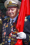 Odessa, Ukraine - May 9: Parade. Victory Day Royalty Free Stock Photos