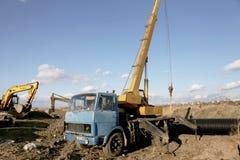 ODESSA, UKRAINE - November 9: Ukrainian workers on construction Royalty Free Stock Image