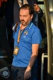 ODESSA, UKRAINE - 15. September 2016: Verein-Offizier geht von weg Stockfotografie