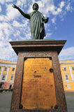 Odessa, Ukraine. Statue of Duke Richelieu Royalty Free Stock Images