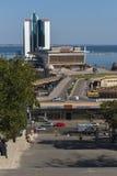 ODESSA/UKRAINE 10TH OKTOBER 2007 - het hotel en de cruise p van Odessa royalty-vrije stock foto's