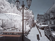Odessa, the urban landscape Stock Images