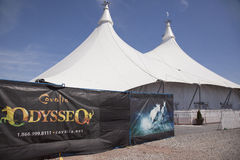 Odesseo by cavalia theatre Royalty Free Stock Images