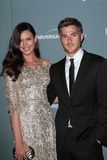 Odette Annable,Dave Annable Royalty Free Stock Photography