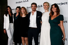 Odette Annable, Gaby Hoffman, Donna Hanover, Dave Annable, Mickey Sumner, Gina Gershon Fotos de Stock Royalty Free