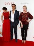 Odeya rusar, Brenton Thwaites, Meryl Streep Royaltyfria Bilder