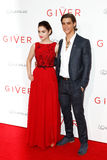Odeya Rush, Brenton Thwaites Royalty Free Stock Photography