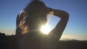 odgórna góry kobieta zdjęcie wideo