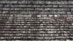 Odgórnego widoku drewna dachu tekstura obraz stock