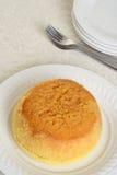 Odgórnego widoku melasy pudding Zdjęcie Royalty Free