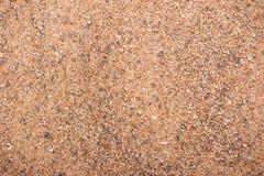 Odgórnego widoku piaska tekstura Zdjęcia Stock
