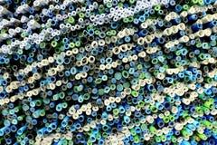 Odgórnego widoku rolek papiery Fotografia Stock