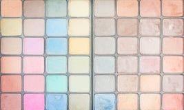 Odgórnego widoku tekstura multicolor uzupełnia wzoru tło zdjęcia royalty free