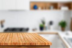 Odgórny drewniany Obraz Stock