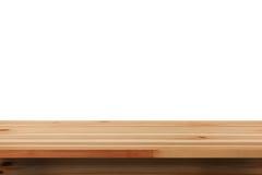 Odgórny drewniany Obrazy Royalty Free