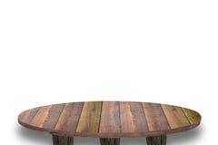 Odgórny drewniany Zdjęcia Stock
