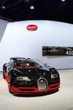 Odgórny luksusowy samochód Bugatti Zdjęcia Stock