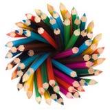 odgórny ołówka widok Obraz Stock