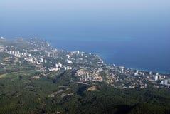 odgórny panorama widok Zdjęcia Royalty Free
