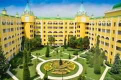 Hotelowy pałac Obraz Stock