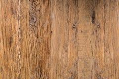 Odgórny widok Brown tekstury Naturalny Nieociosany Drewniany abstrakt Backgroun Obraz Stock
