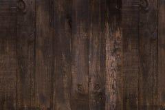 Odgórny widok Ciemny Brown tekstury abstrakta Naturalny Nieociosany Drewniany plecy Obrazy Stock
