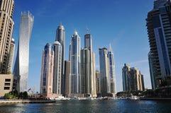 Odgórny widok Dubaj UAE Obrazy Stock