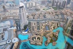 Odgórny widok Dubaj UAE Obraz Royalty Free