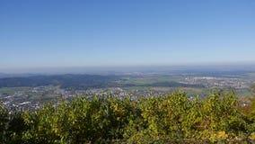 Odgórny widok góry zdjęcie wideo