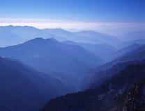 Odgórny widok Hinku dolina Zdjęcia Royalty Free