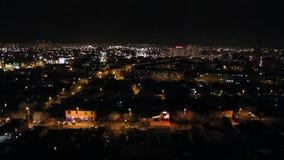 Odgórny widok miasto Krasnodar, Rosja zdjęcie wideo