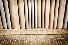 Odgórny widok mnóstwo książki Obraz Stock