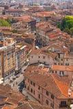 Odgórny widok Pisa Obrazy Royalty Free