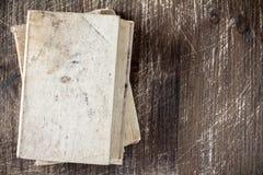 Odgórny widok stare książki Obraz Royalty Free