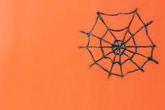 Odgórny widok Szczęśliwy Halloweenowy festiwalu tła pojęcie Obrazy Royalty Free