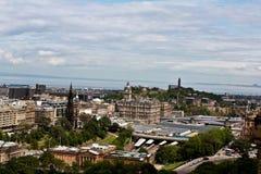 Odgórny widok Szkocja fotografia royalty free