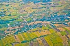 Odgórny widok Thailand Zdjęcia Stock