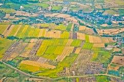 Odgórny widok Thailand Zdjęcie Stock