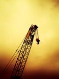 Odgórny widok żuraw Fotografia Royalty Free