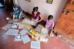 Odia art at odisha village india.